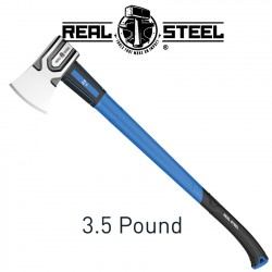 AXE 1.5KG 3.5LB GRAPH. HANDLE 870MM REAL STEEL