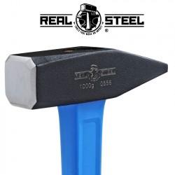 HAMMER MACHINIST 1000G 35.OZ GRAPH. HANDLE REAL STEEL