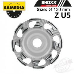 DIAMOND CUP WHEEL 130MM IND. CONCRETE / GRANITE & NAT. STONE SHOXX ZU5