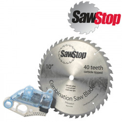 SAWSTOP DEMO CARTRIDGE AND  40T BLADE