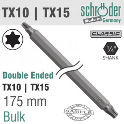 D/E TX10 X TX15 175MM BIT