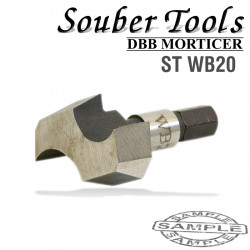 CUTTER 20MM /LOCK MORTICER FOR WOOD SNAP ON