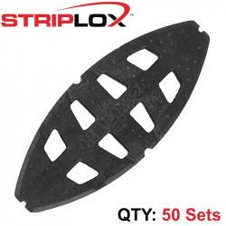 STRIPLOX GRIPLOX NO 20 BISCUIT BLACK BULK BAG (50 SETS)