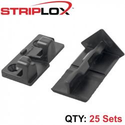STRIPLOX 90D 51 (2') BLACK BULK BAG (25 SETS)