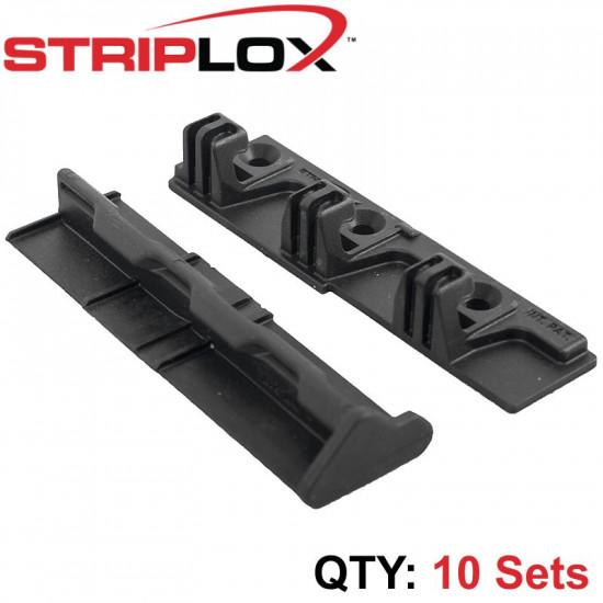 STRIPLOX 90D BLACK 98MM BULK BAG (10 SETS)