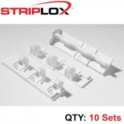 STRIPLOX 90D WHITE 98MM BULK BAG (10 SETS)