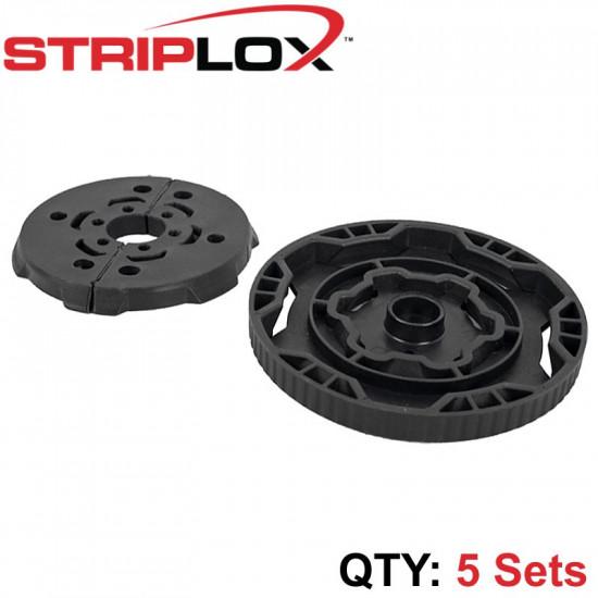 STRIPLOX 180D BLACK BULK BAG BLACK (5 SETS)