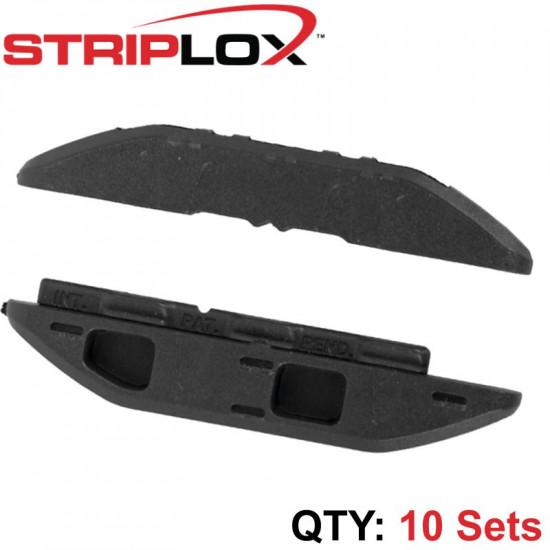 STRIPLOX MINI 60MM BLACK (10 SETS)