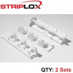 STRIPLOX 90D WHITE 98MM (2 SETS)