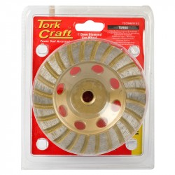 DIA. CUP WHEEL 115MM X M14 TURBO COLD PRESSED