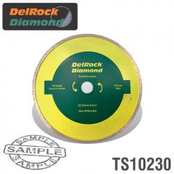 DIAMOND BLADE 230MM CONT. RIM DELROCK