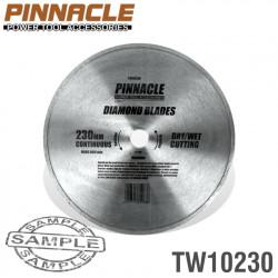 DIAMOND BLADE CONT.RIM 230X22.22MM PINNACLE
