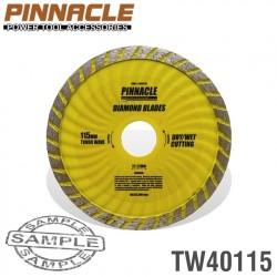 DIAMOND BLADE TURBO WAVE 115MM X 22.22 PINNACLE