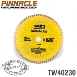 DIAMOND BLADE TURBO WAVE 230MM X 22.22 PINNACLE