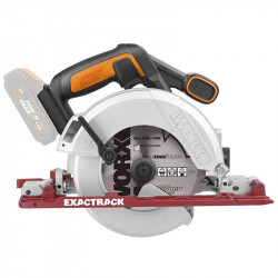 EASY TRACK CIRC. SAW 20V 165MM 3600RPM TOOL ONLY WORX